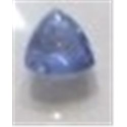 .50 ct Natural Tanzanite Trillion Cut & Faceted!! Tanzanite is only found in Tanzania East Africa an