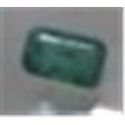 .25 ct Natural Columbian Emerald Cut & Faceted!!!!