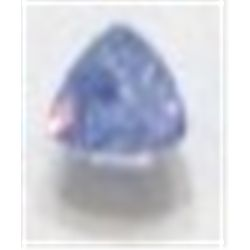 .55 ct Natural Tanzanite Trillion Cut & Faceted!! Tanzanite is only found in Tanzania East Africa an
