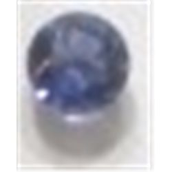.50 ct Natural Iolite Cut & Round Faceted *HIGH GRADE*!!!! Iolite came out of Estate Bank Safe Depos