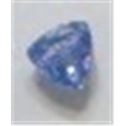 .45 ct Natural Tanzanite Trillion Cut & Faceted!! Tanzanite is only found in Tanzania East Africa an