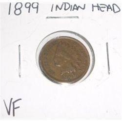 1899 Indian Head Penny *FINE GRADE*!!