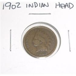 1902 Indian Head Penny *PLEASE LOOK AT PICTURE TO DETERMINE GRADE*!!