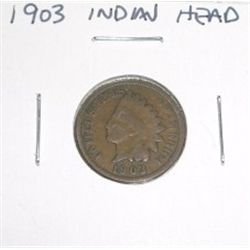 1903 Indian Head Penny *PLEASE LOOK AT PICTURE TO DETERMINE GRADE*!!