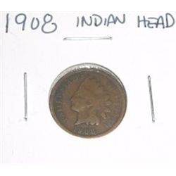 1908 Indian Head Penny *PLEASE LOOK AT PICTURE TO DETERMINE GRADE*!!