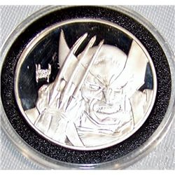 Marvel Comics  Wolverine  Ltd. Ed. .999 1oz. Silver Commemorative.