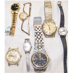 Seven Assorted Watches.