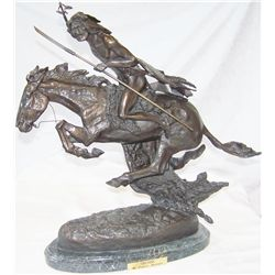 """Cheyenne"" by Frederic Remington. #77/100."