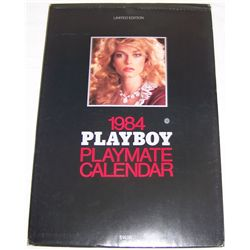 1984 PLAYBOY PLAYMATE LIMITED EDITION CALENDAR w/ Slip cover