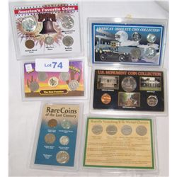 (6X$) U.S COIN COLLECTIONS INCLUDING SILVER