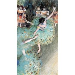 Danseuses Basculant - Edgar Degas - Limited Edition on Canvas