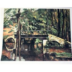 Limited Edition Cezanne- Bridge At Maincy - Collection Domaine Cezanne