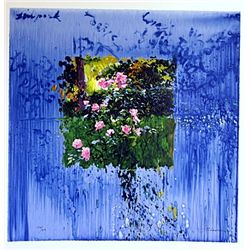 LLado FLORAL Hand Signed Limited Ed. Serigraph