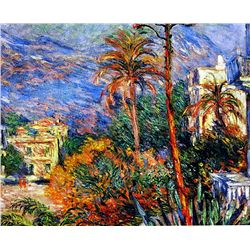The Palms by Monet