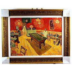 The Rec Room  -Van Gogh- Embellished Limited Edition Giclee