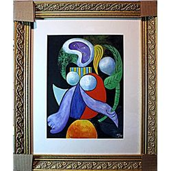 Picasso - Limited Edition - Woman With A Flower