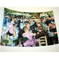 La Moulin de la Galette - Renoir - Colored Etching