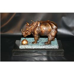 Salvador Dali RHINOCEROS Bronze Sculpture
