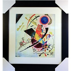 Wassily Kandinsky Limited Edition-BLUE CIRCLE