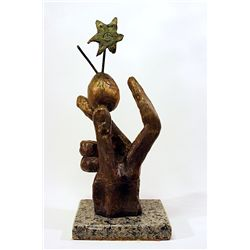 Salvador Dali Enchanting Limited Edition Bronze- METAMORPHOSIS OF NARCISSOS