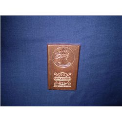 Half pound copper bar