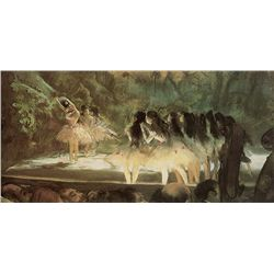 Ballet At The Opera - Edgar Degas - Limited Edition on Canvas