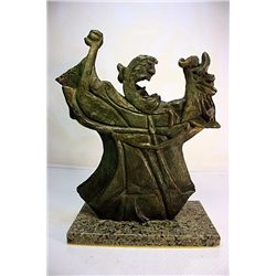 Rufino Tamayo  Original, limited Edition  Bronze - The Wizard