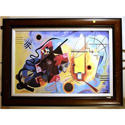 Kandinsky - Yellow, Red and Blue - Limited Edition