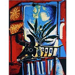 Limited Edition Picasso - Still Life With Bulls Head - Collection Domaine Picasso