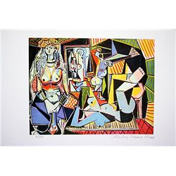 Picasso Limited Edition - Women Of Algiers - from Collection Domaine Picasso