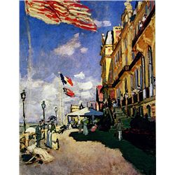 Hotel de Roches Noires by Monet