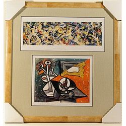 Picasso and Pollock-Lithographs Set