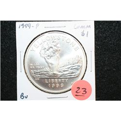 1999-P US Yellowstone Commerative $1 Coin, BU