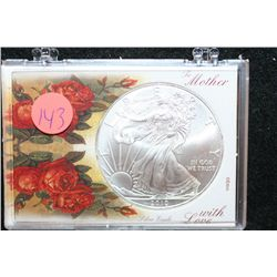 "2010 Silver Eagle $1, ""To Mother With Love"""