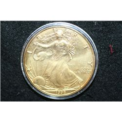 1998 Silver Eagle $1, CLAD Gold