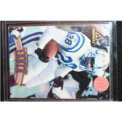 1997 NFL Pinnacle Marshall Faulk-Indianapolis Colts Football Card