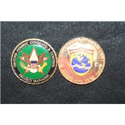 Directorate of Logistics III Corps and Fort Hood Challenge Medal Presented for Outstanding Accomplis