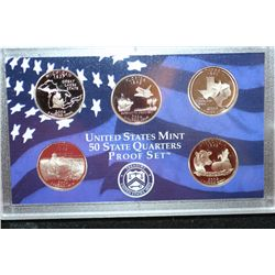 2004-S US Mint State Quarter Proof Set