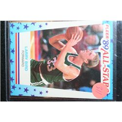 1989 NBA Fleer All-Stars Larry Bird-Boston Celtics Basketball Card