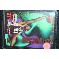 1998 NBA Skybox Tim Duncan-San Antonio Spurs Rookie Basketball Card