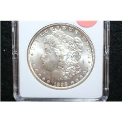 1898-O Silver Morgan $1, MCPCG Graded MS63