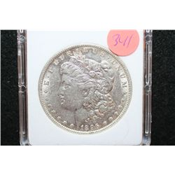 1896-O Silver Morgan $1, MCPCG Graded MS60