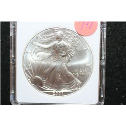 2001 Silver Eagle $1, MCPCG Graded MS70