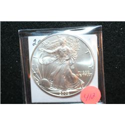 2002 Silver Eagle $1