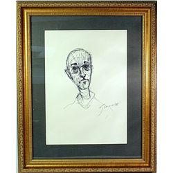 Original Drawings Signed - Giacometti