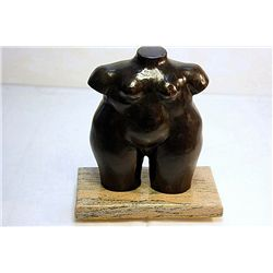Botero Bronze Sculpture - Nude