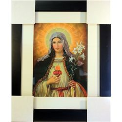 Unknown  Limited Edition-Sacred Heart of Mary