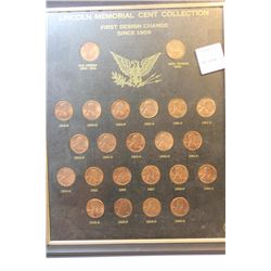 Lincoln Memorial Cent Collection-Uncirculated