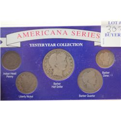 American Series Yesteryear Set w 3 silver Coins