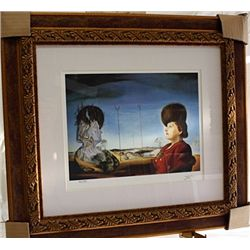 Salvador Dali Signed Limited Edition - Portrait Of Madame Isabel